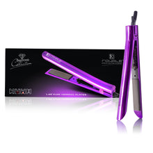 Load image into Gallery viewer, Limited Edition - Platinum Genius Heating Element Hair Straightener with 100% Ceramic Plates - Sparkling Purple