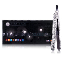 Load image into Gallery viewer, Classic Print 100% Ceramic Tourmaline Plates Soft Touch Hair Straightener - Zebra Print