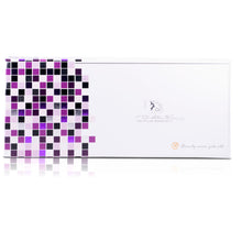 Load image into Gallery viewer, Classic Print 100% Ceramic Tourmaline Plates Soft Touch Hair Straightener - Purple Zebra