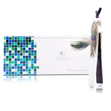 Load image into Gallery viewer, Classic Print 100% Ceramic Tourmaline Plates Soft Touch Hair Straightener - Peacock