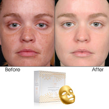 Load image into Gallery viewer, Multi Vitamin E, A & C Facial Golden Mask 12 Sleeves