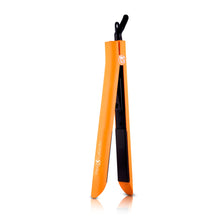 Load image into Gallery viewer, Platinum Genius Heating Element Hair Straightener with 100% Ceramic Plates - Neon Orange