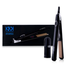 Load image into Gallery viewer, Nano Fiber Flat Iron Pro - Black