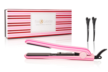 Load image into Gallery viewer, Soft Touch Classic Hair Straightener - Candy Stripes
