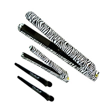 Load image into Gallery viewer, Soft Touch Metro Straightener Set - Zebra