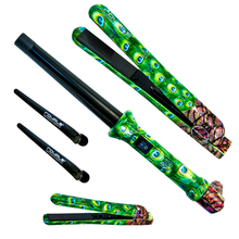 Load image into Gallery viewer, Straightener/Curler Full Set - Peacock - RoyaleUSA ?id=3274987634731