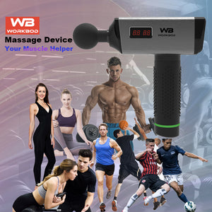 workbod vibration massage gun