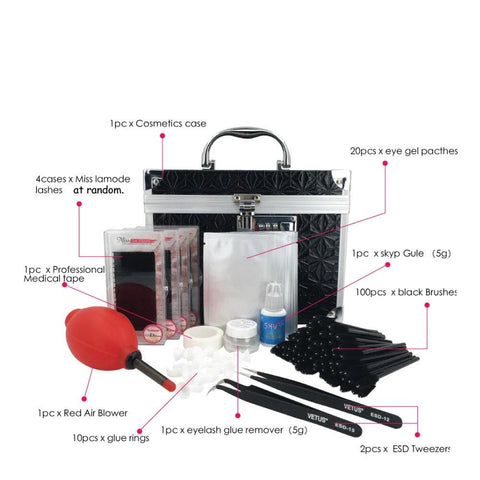 kit pro extension de cils en soie | Cilsperfect