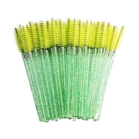 Brosse extension de cils Cristal Green