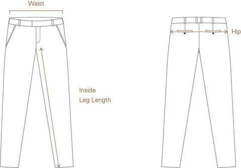Size Guide for Women's Denim and Trousers