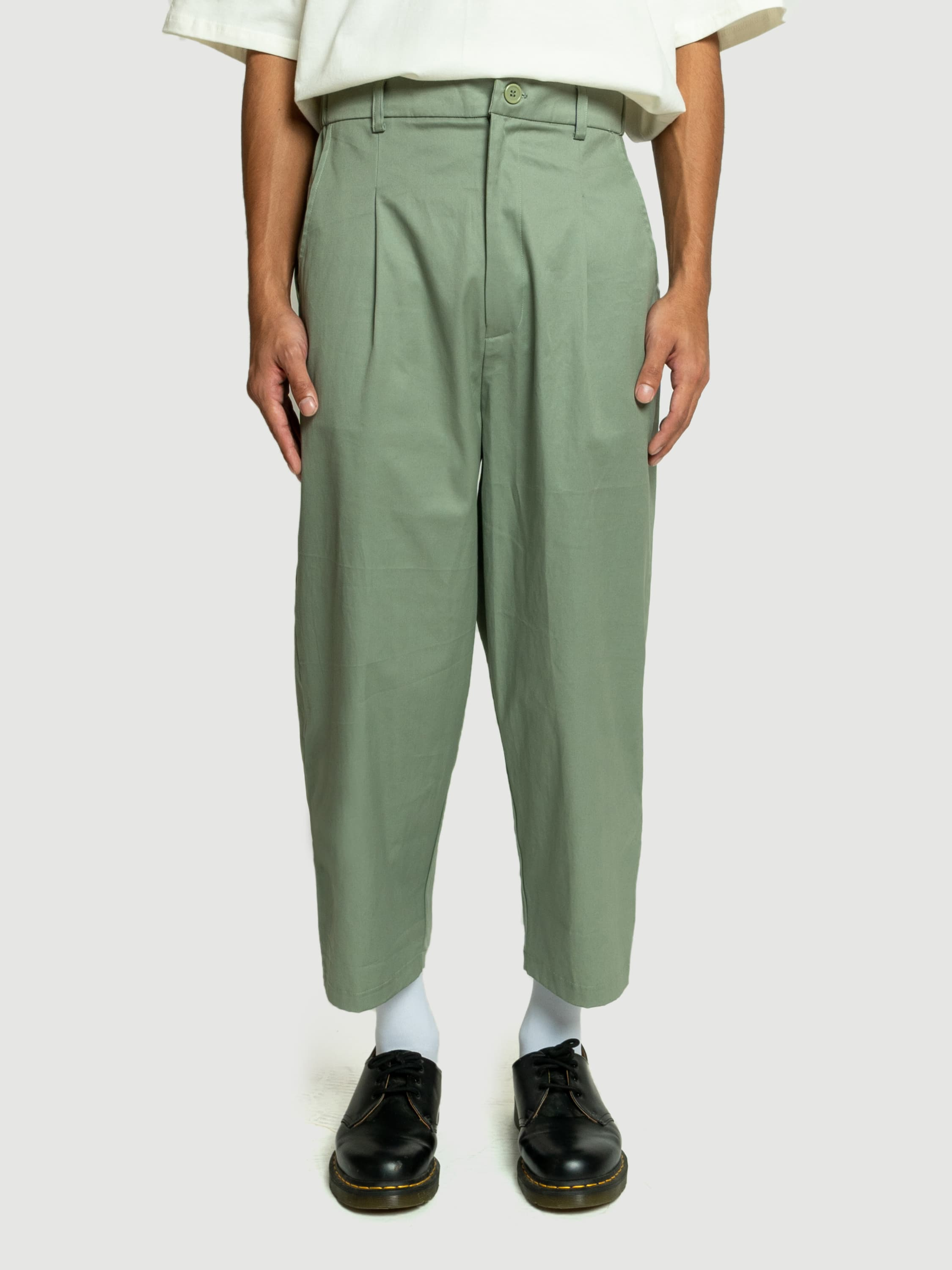 Baggy Mint Twill Pants