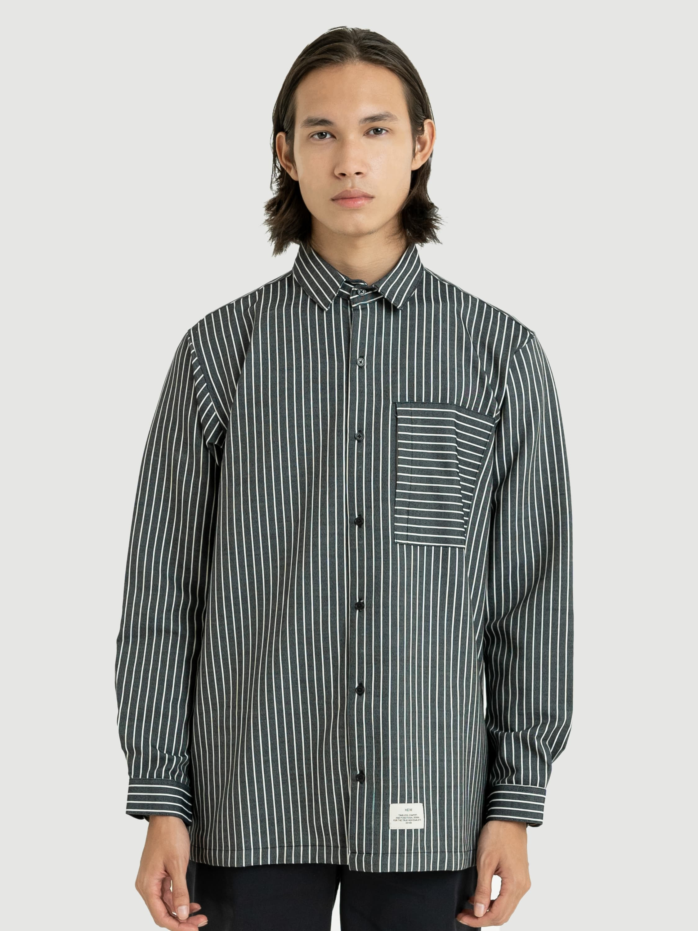 Classic Stripes Wool Shirt