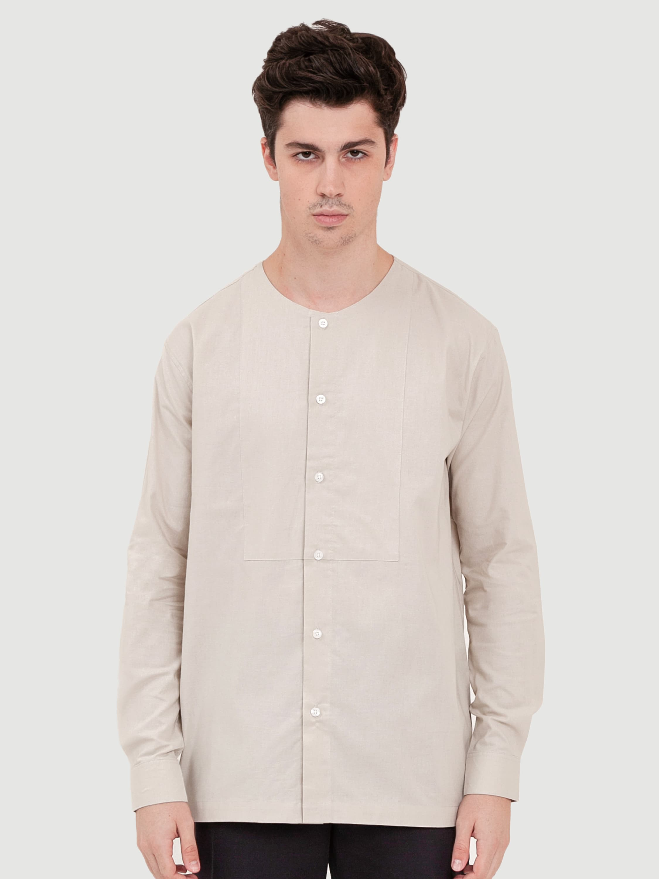 Common Off-White Cotton Shirt