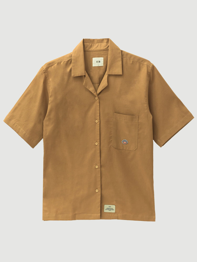 Easy Eye Mustard Cotton Shirt