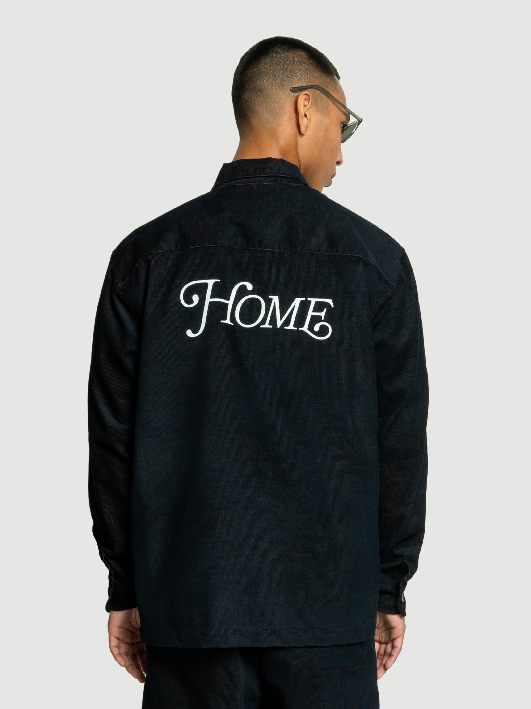 Home Black Corduroy Jacket