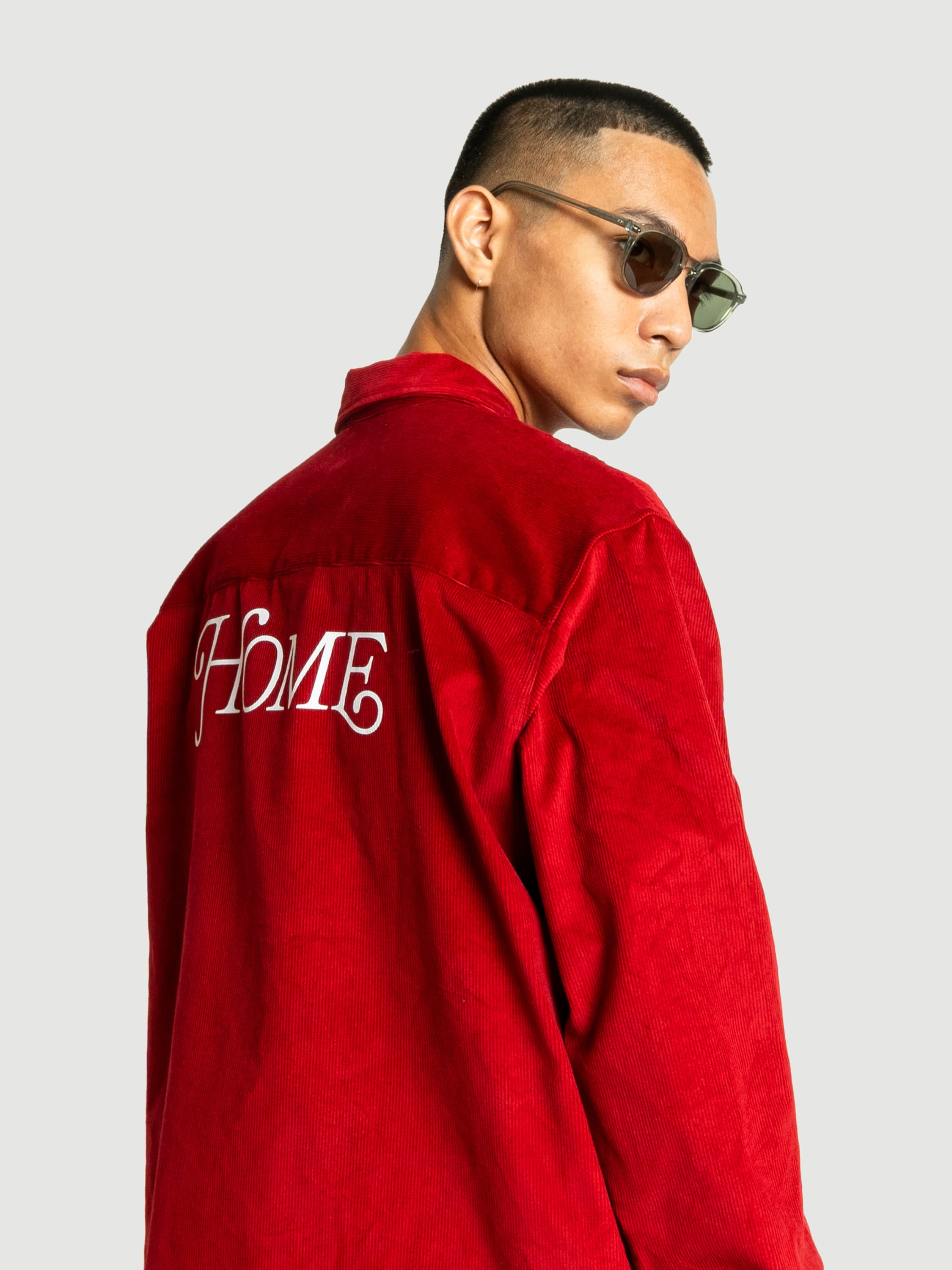 Home Red Corduroy Jacket