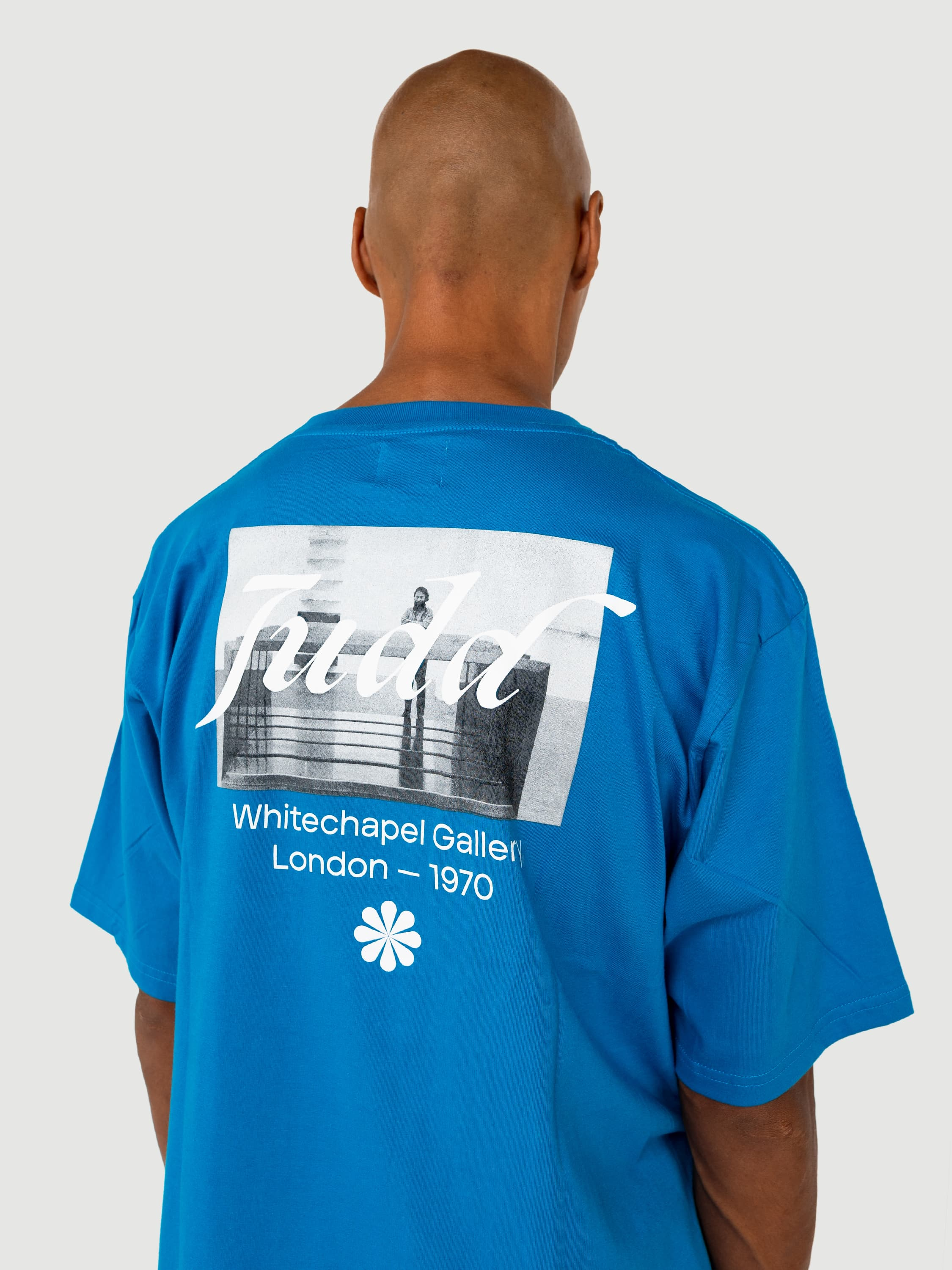 Donald Judd Blue T-shirt