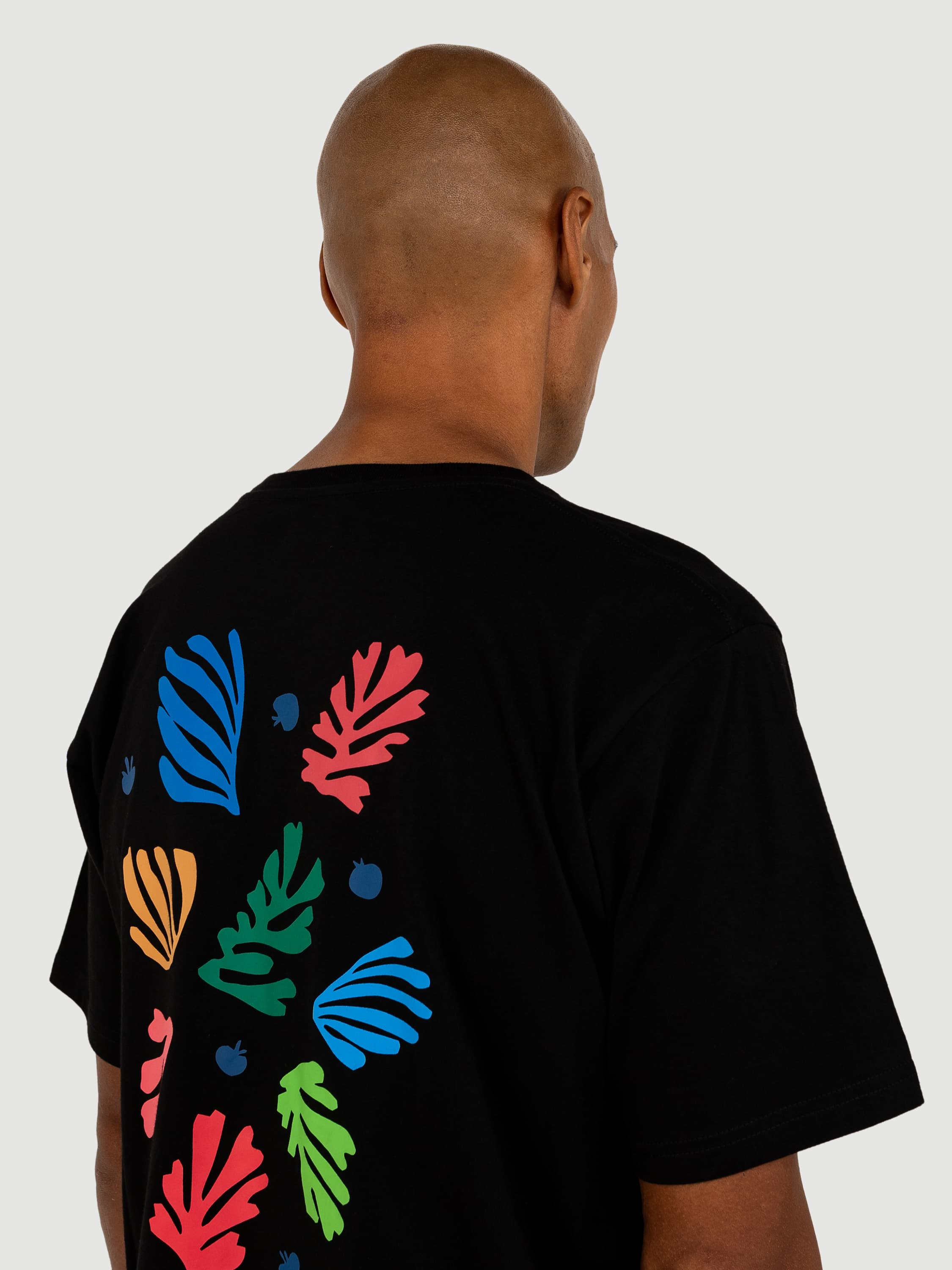 Matisse Flowers Black T-shirt
