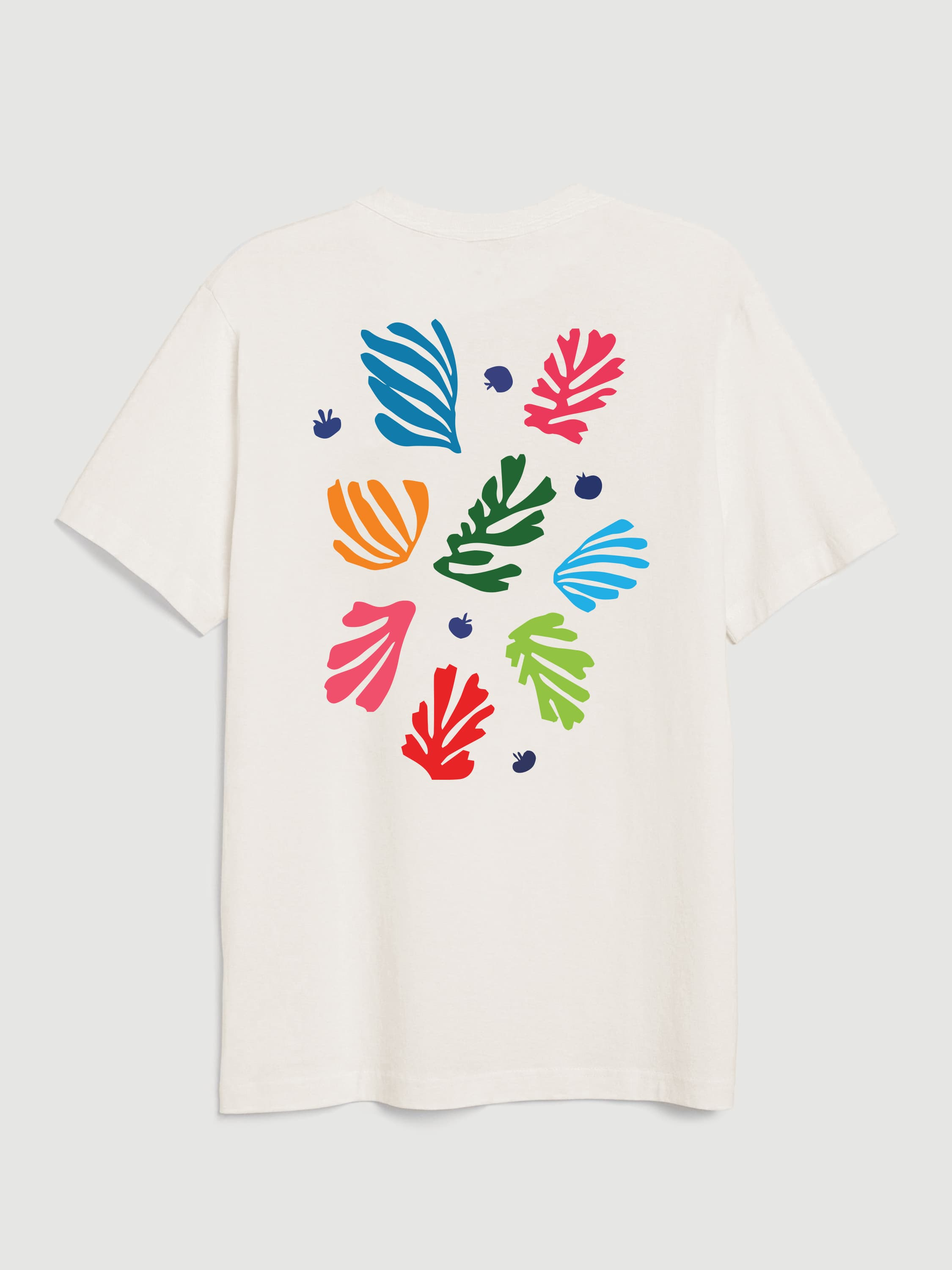 Matisse Flowers Off-White T-shirt