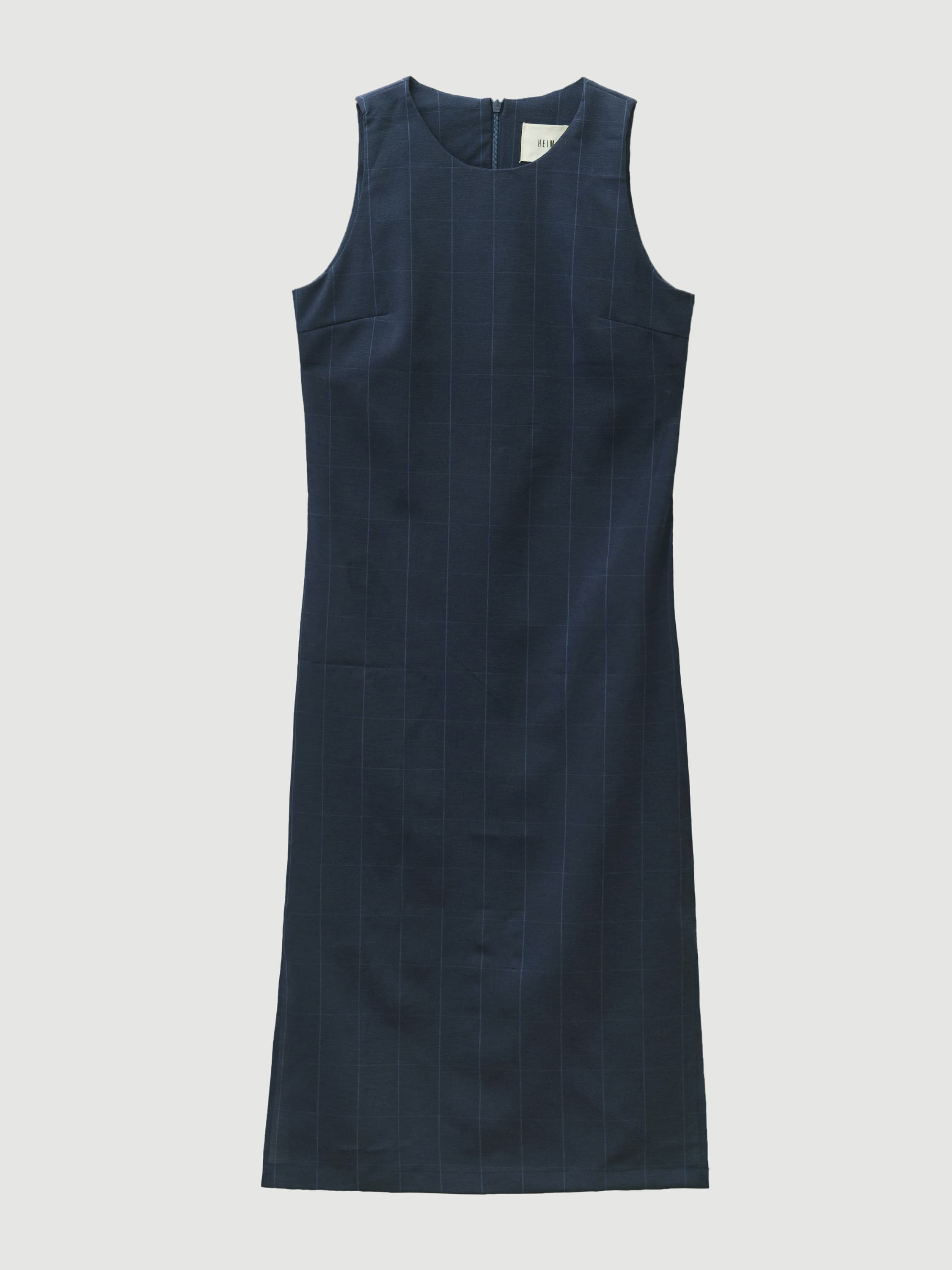Minimal Navy Square Dress