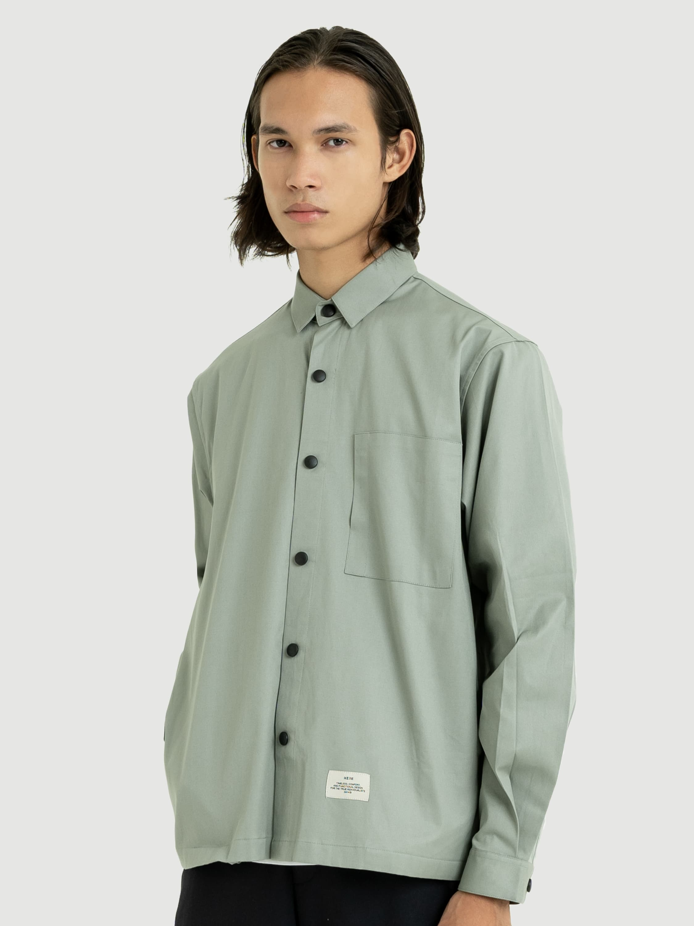 Regular Mint Overshirt
