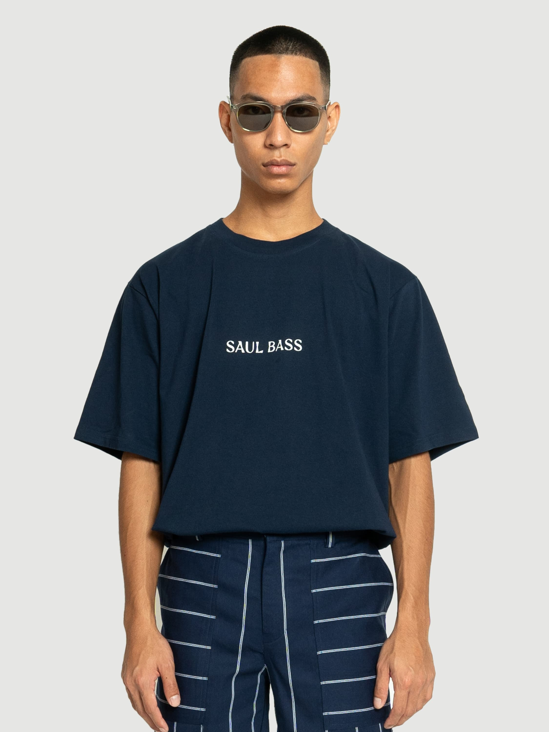 Saul Bass Navy T-shirt