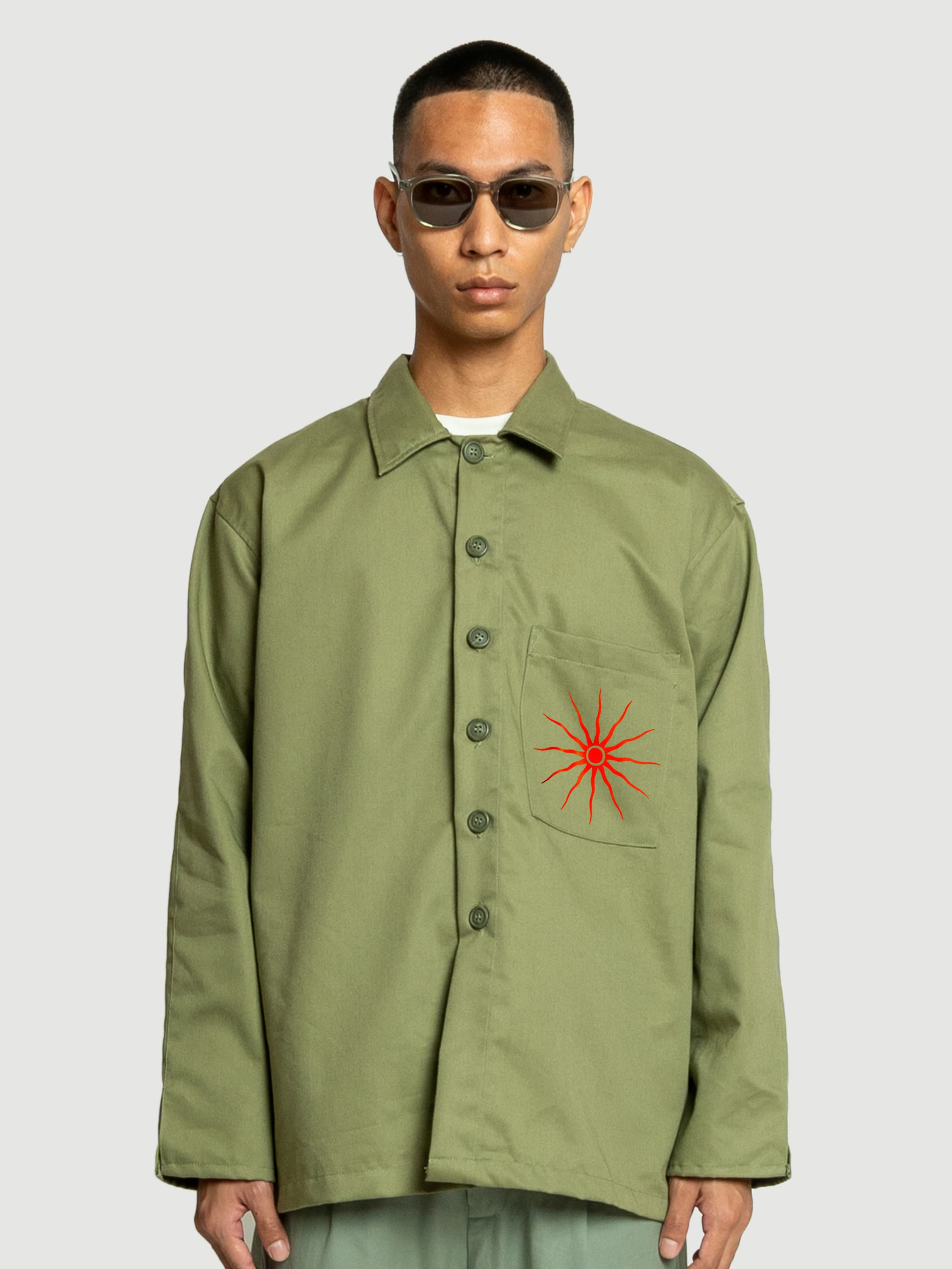 Sun of Malta Olive Jacket