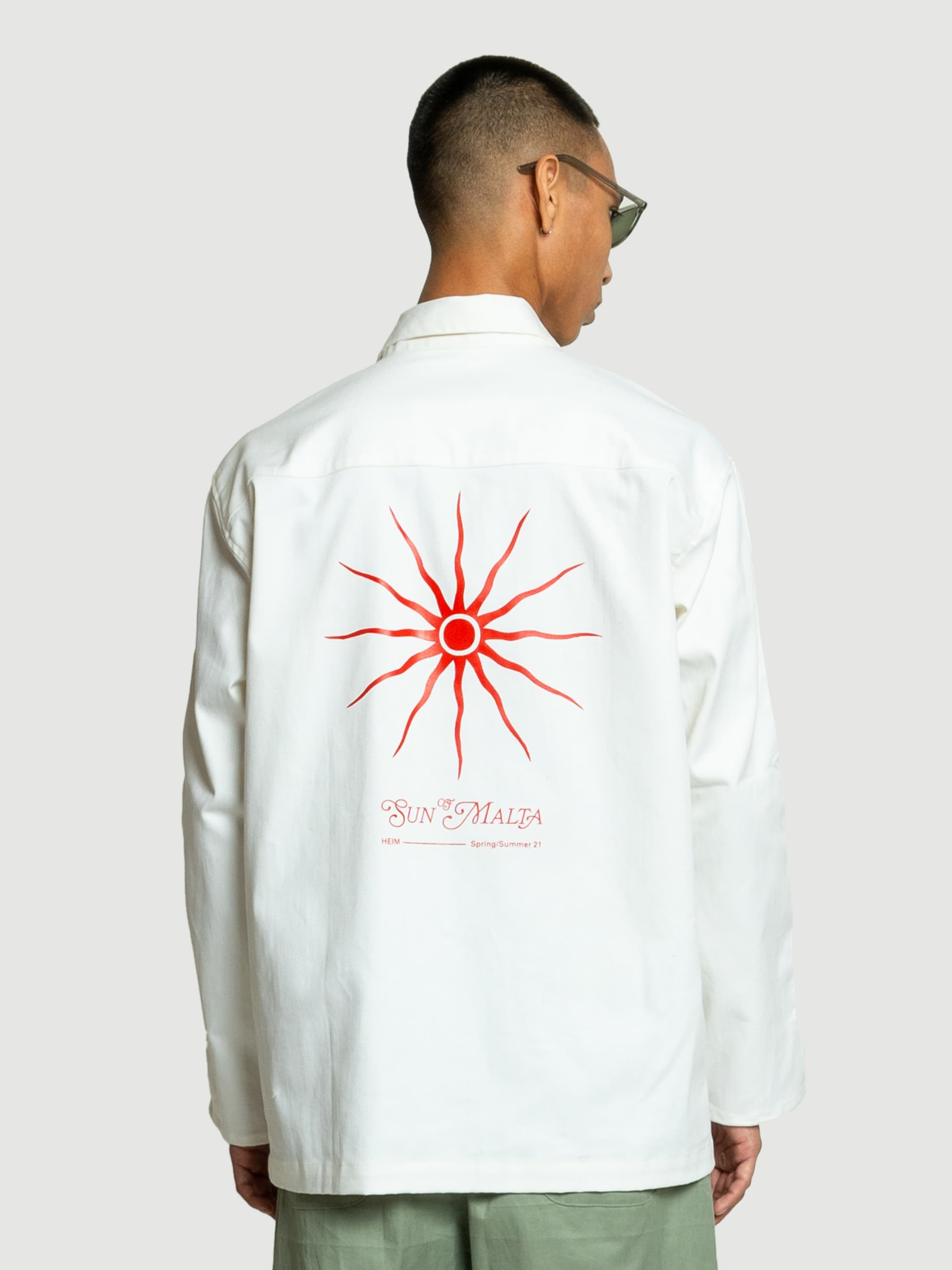 Sun of Malta White Jacket