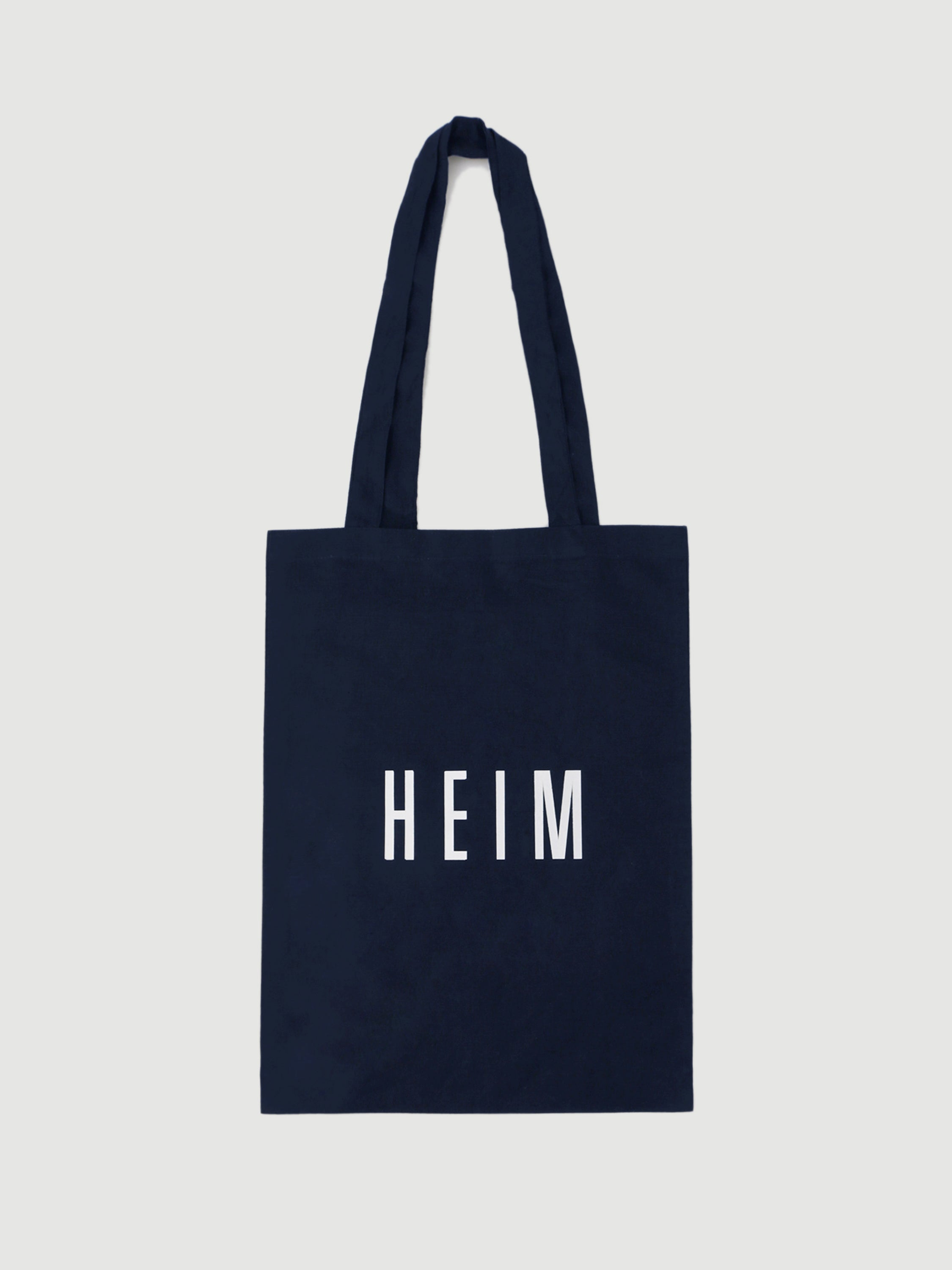 Mini Linen Tote Bag Navy