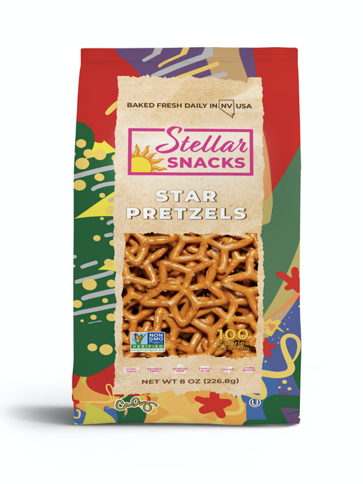 Stellar Snacks Star Pretzels 8 oz.