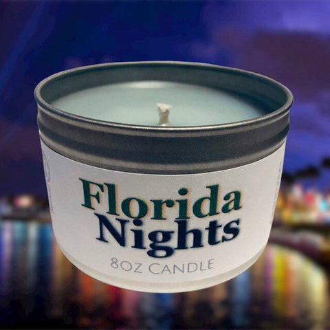 Florida Nights Candle