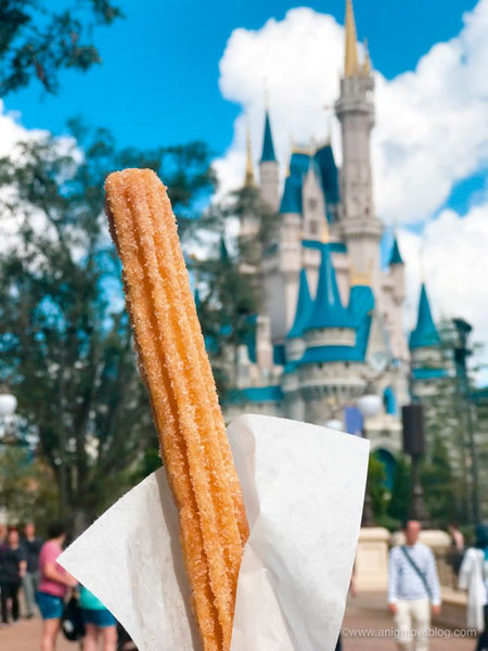 Mickey's Churro Treat Candle