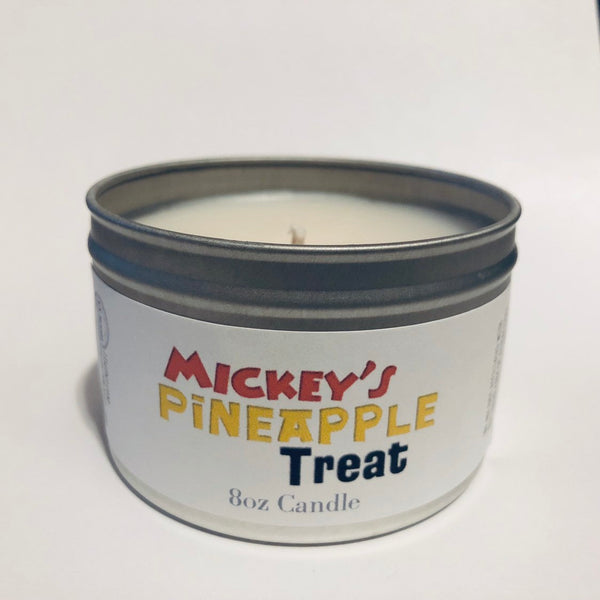 Mickey's Pineapple Treat (Dole Whip) Candle