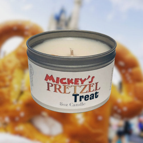 Mickey's Pretzel Treat Candle