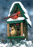 Cardinals In Snow Image 1