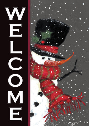 Snowman Welcome Image 1