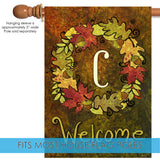 Fall Wreath Monogram C Image 3