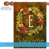 Fall Wreath Monogram E Image 3