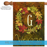 Fall Wreath Monogram G Image 3