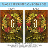 Fall Wreath Monogram G Image 7