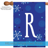 Winter Snowflakes Monogram R Image 3