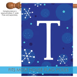 Winter Snowflakes Monogram T Image 3