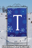 Winter Snowflakes Monogram T Image 6
