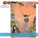 Anna's Hummingbirds and Butterflies Image 3