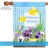 Pansies ' n Plaid Image 3