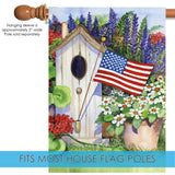 Flag Flying Bird House Image 3