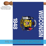 Wisconsin State Flag Image 3