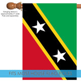 Flag of Saint Kitts and Nevis Image 3