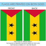 Flag of Sao Tome and Principe Image 7