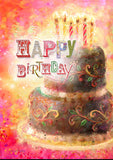 Layer Cake Birthday Image 1